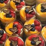 Home Made Dessert - Fruit Flans