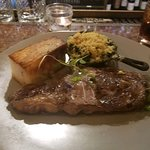 bison ribeye to die for