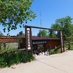 Entrance to Buffalo Bill Museum