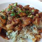 Tasty spicy cashew chicken