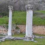 Well preserved marble columns