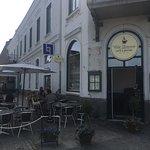 Kafe Bla Dorren Foto