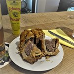Locally made Pork Pie with Real Cider