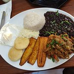 Shredded Beef & Plantains