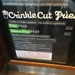 Shake Shack @ JFK menu