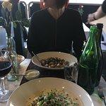 Gnocchi, pasta and the finest wine