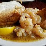 Wonderful barbecue shrimp poboy