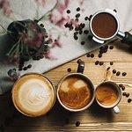 Coffee lovers we have soy milk too