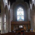 cromer parish church the illuminating glass window