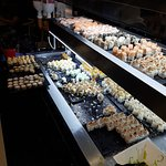 Two-Tiered Sushi Bar