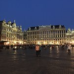 Grand Place at night. Marvellous.