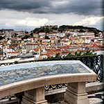 Even when the weather is gloomy Lisbon looks beautiful.