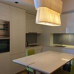 俯進入房間便是開放式廚房