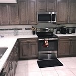 Very workable kitchen with modern appliances