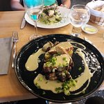 supreme volaile, sauce foie gras