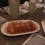 4 platos en Lila