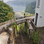 Lynton and Lynmouth Cliff Railway Photo