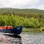jokiveneretket Lily-veneillä Lemmenjoen kansallispuistoon