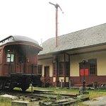 Depot & old railroad car