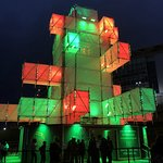 Slideatron is a world first has landed at Wembley Park — in the form of Slideatron — a fully imm