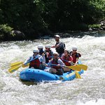On the Pigeon River with Raft Outdoor Adventures