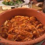 Tripa a la Fiorentina (tripe stew) is a house specialty
