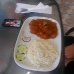 Malaysian chicken curry; very tasty