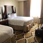 Standard 2-queen room. Elegant, I thought.