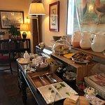 Post-breakfast area