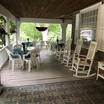 Front porch of Inn