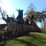 Monumento donado por los alemanes a Chile