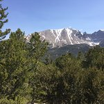 Wheeler Peak from the scenic highway in Great Basin NP