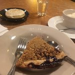 Marionberry Pie and Homemade Ice Cream