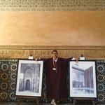 nuestro guía en la escuela coranica ben youssef a Marrakech