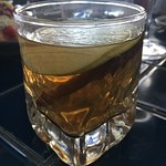 Turkish tea with apple, cinnamon and star anise