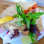 The best Crab Sandwich of the holiday - delicious!