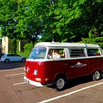 Vintage VW hired from Castle Coast Campers