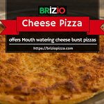 A highly delicious option for this weekend is cheese pizza!  Have you tried it yet?? Order now:
