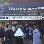Cannoli for sale on Italian Day