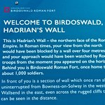 Birdoswald Fort, descriptive board