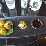 Indonesian chicken balls - starter