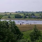 View from the Sun Terrace at Red Lion Alnmouth