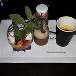 Trio van mini-dessertjes