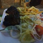 Great basic American steakhouse type meal from Australia in Thailand