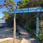start of the manly scenic walkway