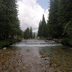 Small waterfall in a very cozy mountain area near Padina