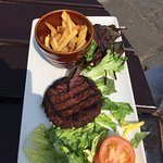 This was my cheese burger £12.50