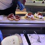 panini filling in the making..