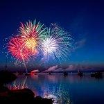 Friday night fireworks!