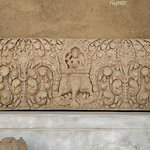 Lintel, depicting Indra mounted on the devine elephant Airavata